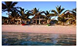 Resorts Palma Beach Bungalow Cook Islands Cities travel sites Postcard Post card