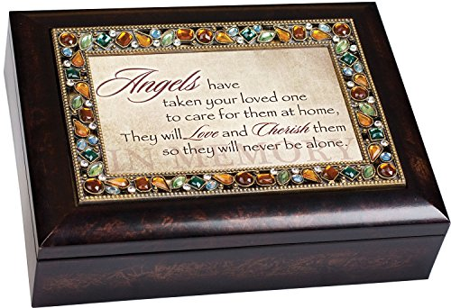 Cottage Garden Angels Care Bereavement Jewelry Box