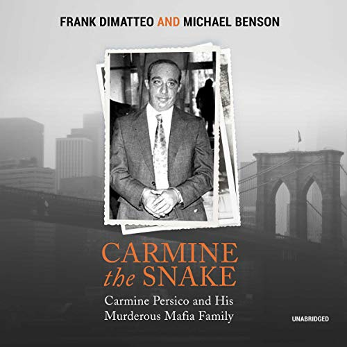 Carmine the Snake audiobook cover art