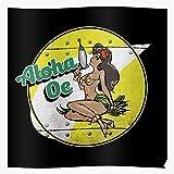 SARAHSILVA Oe Dandy Anime SciFi Boobies Aloha Spaceship Fiction Space Science Pinup I S Poster Gift for Home Decor Wall Art Print Poster