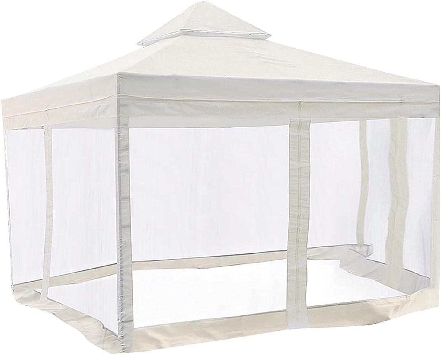 SRAMO 10'x10' Gazebo Tulsa Mall Canopy Replacement 2 Tier 200g UV30+ sqm 2021 model Pa