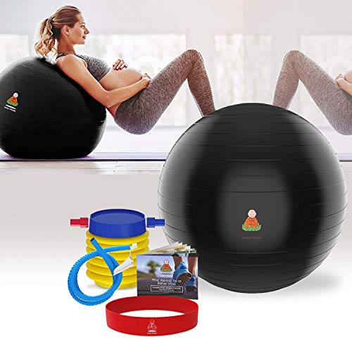 Exercise Ball Stability Fitness Balls | Best Professional Balance Anti-Burst Set