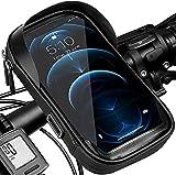 Porte téléphone vélo etanche, Support telephone scooter Sacoche guidon de cadre selle VTT Moto...
