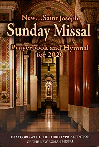 St. Joseph Sunday Missal: Prayerbook and Hymnal for 2020
