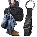HelloCreate Anti-Theft Luggage Strap Jacket Holder Gripper Add Bag Handbag Clip Use to Carry
