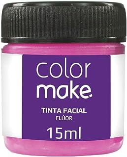 Tinta Líquida Fluorescente 15Ml Caixa C/12, Colormake