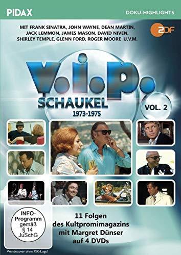V.I.P.-Schaukel, Vol. 2 (1973 - 1975) / Weitere 11 Folgen des Kultpromimagazins mit Margret Dünser (Pidax Doku-Highlights) [3 DVDs]