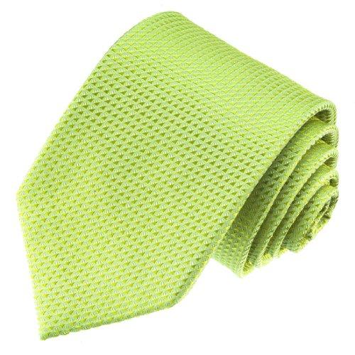 Lorenzo Cana - Marken Krawatte aus 100{769b0d76d1aac4b40c418618a951e6ce854707090e3c80f44def00a8068643d2} Seide hellgruen lindgruen gruen - 84489