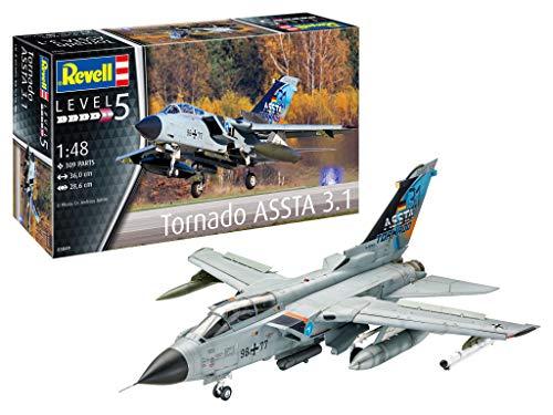 Revell 03849 Tornado ASSTA 3.1 originalgetreuer Modellbausatz für Experten, unlackiert