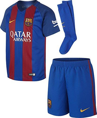 Nike FCB LK HM KIT - Kit FC Barcelona Blau - S - Unisex Kinder