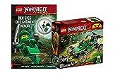 Collectix Lego Ninjago - Set 71700 Lloyds con predatore della giungla + la vittoria del Ninja verde (copertina morbida)