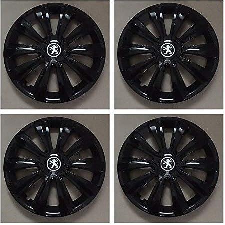 Wheeltrims Set Von 4 New Radzierblenden Für Peugeot 407 207 307 1007 4007 Tepee Mit Original Felgen In 40 6 Cm Auto