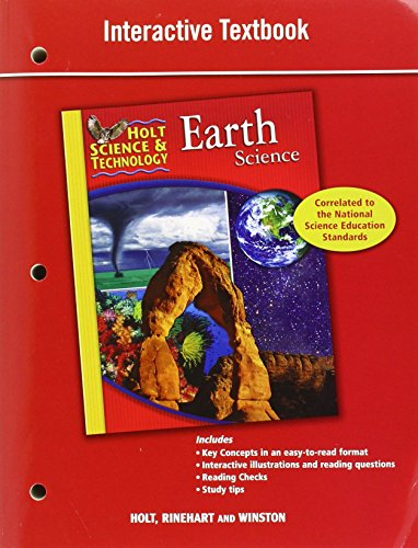Compare Textbook Prices for Holt Science & Technology: Interactive Textbook Earth Science 1 Edition ISBN 9780030790836 by HOLT, RINEHART AND WINSTON