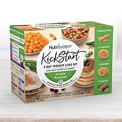 Nutrisystem® Kickstart Green Protein-Powered Kit - 5-Day Weight Loss Kit with Delicious Meals & Snacks