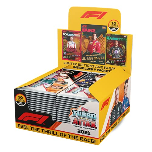 Topps Turbo Attax F1 2021 Sammelkarten – komplette Box