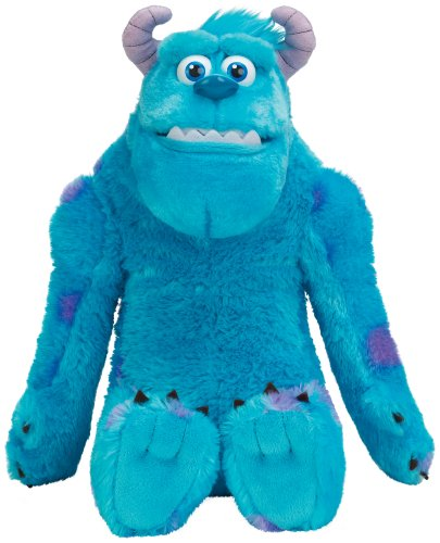 Monsters University – My Scare Pal – Sulley – Peluche 30cm Parlant Anglais (Import Royaume-Uni)