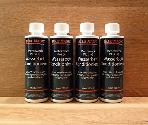 4-delige Blue Magic conditioner, waterbedden