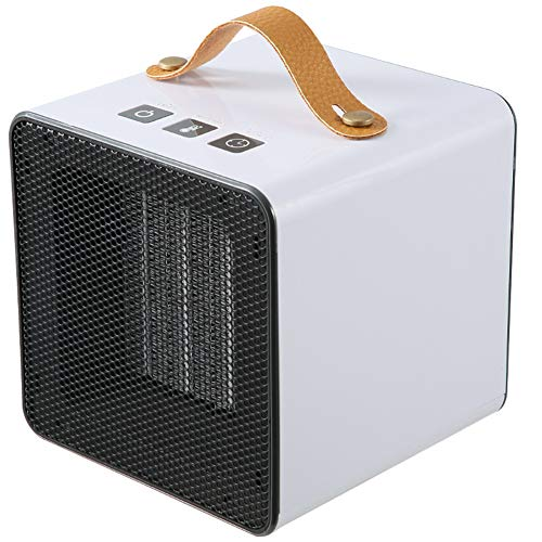 RR-YRF Portable Mini 800W Electric Heater Time Temperature Control Winter Office Office Home Air Heater