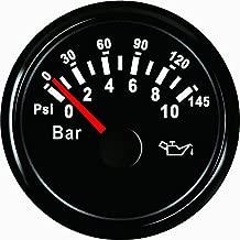ELING Oil Pressure Gauge Meter 0-10bar 0-145Psi 52mm(2