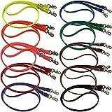 bio-leine Geschlossene Zgel fr Pferd Pony - 2,50 bis 3m lang I 12-19mm breit I Pferdezgel aus BioThane I schmutz- und wasserabweisend I Gummizgel in 20 Farben