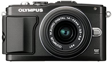 Olympus E-PL5 Mirrorless Digital Camera with 14-42mm Lens (Black)