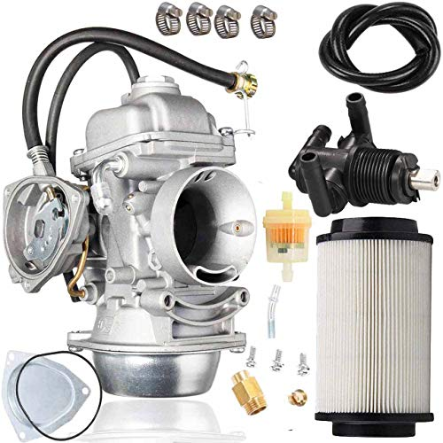 500 Carburetor+7080595 Air filter + Valve Switch for Polaris Sportsman 500 4X4 HO 2001-2005 2010-2012 Carb Scrambler 500 4x4 Trail Boss 325 Polaris Sportsman 500