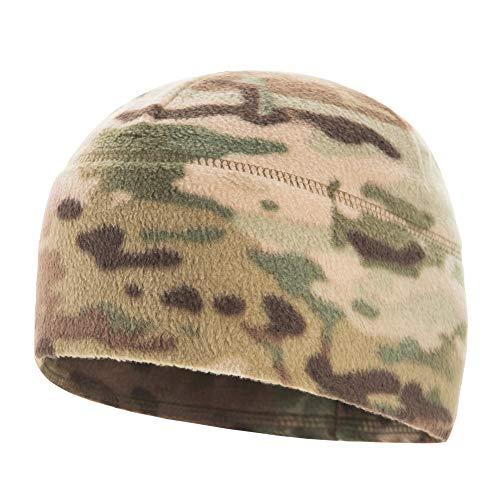 M-Tac Watch Cap Fleece 260 Slimtex Mens Winter Hat Military Tactical Skull Cap Beanie (Medium, Camo)