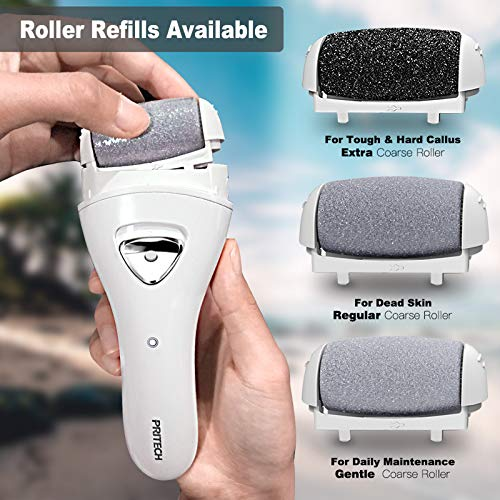 Electric Feet Callus Removers Rechargeable,Portable Electronic Foot File Pedicure Tools, Electric Callous Remover Kit,Professional Pedi Feet Care Perfect for Dead,Hard Cracked Dry Skin Ideal Gift