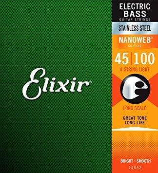 Elixir NANOWEB Light(45-100) ロングスケール 14052 エリクサー ベース弦【国内正規品】