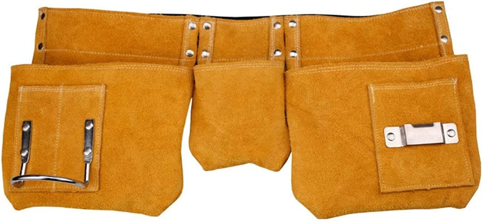MMDSG Leather Tool Spring new work one after another Bag Waist Belt Year-end gift with Adjustable Pocket