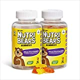 Nutribears Multivitamin Gummies for Kids - With 11 Essential Nutrients for Children who