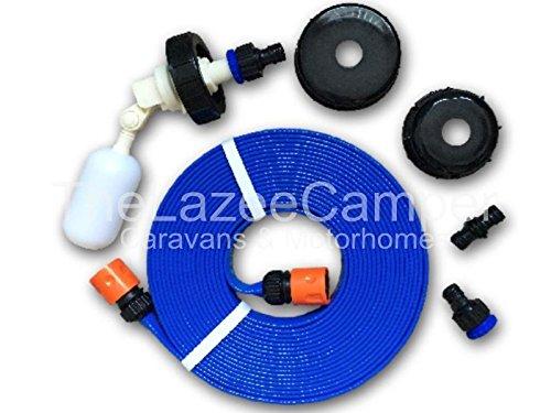Caravan Universal flach Kit Silikonschlauch Netzteil Automatisch Füllen Wasser Adapter für Aquaroll und superpitch Schneller Versand LZ