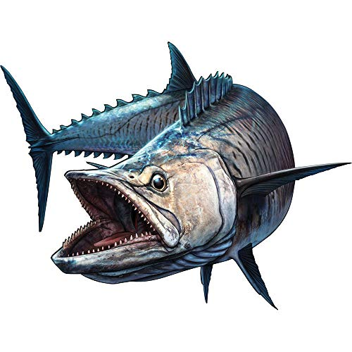 ZQZL Etiqueta engomada del Coche tiburón pez Pesca Barco caña Parachoques camión bajo Vinilo calcomanía 20 cm * 20 cm
