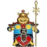 AMYZ 2021 Feng Shui Chino Zodíaco OX Año Latón Figuras coleccionables Decoración de Mesa Estatua Feng Shui Decoración,OX