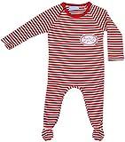 Ringelsuse - Pijama para bebé, color rojo y blanco rojo 74/80 cm