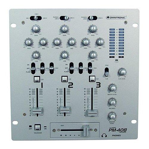Omnitronic 10006818 PM-408 DJ-Mixer