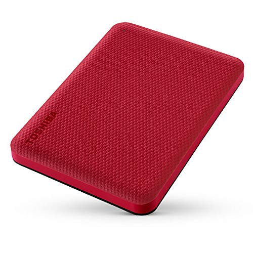 Toshiba Canvio Advance 4TB red - Festplatte - 2,5