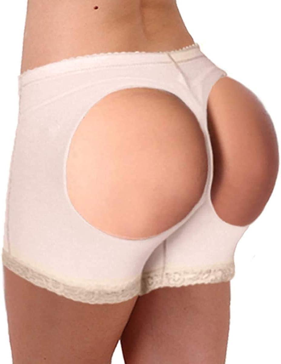Butt Lifter Lace Boy Shorts for Women Body Shaper Hip Enhancer Control Panties Shapewear