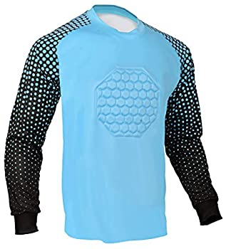 Soccer Goalie Shirt  Columbia Blue Youth Small