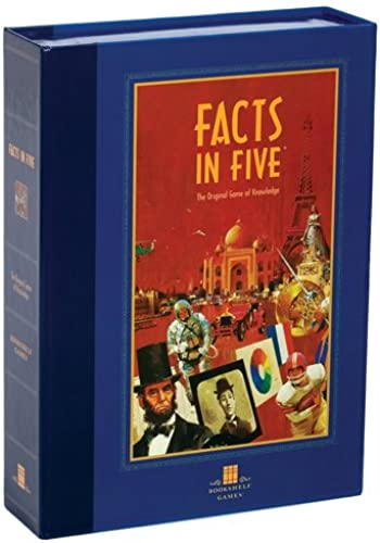 Bookshelf Games Series - Facts in Five by University Games