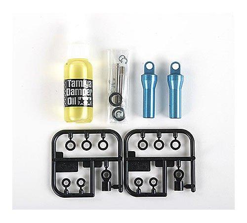 TAMIYA 56503 - 1:14 Truck Öldruckstoßdämpfer, Fahrzeug, blau