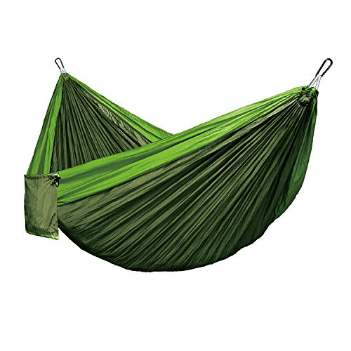 GIARIDE Camping Hammock Double Portable Indoor Outdoor Tree Hammock with 2 Hanging Straps, Lightweight Nylon Parachute Hammocks for Backpacking, Travel, Beach, Backyard, Hiking, Camping