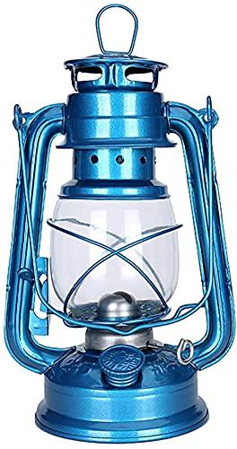 Farol de queroseno vintage lámpara de camping retro lámpara de queroseno tienda de campaña luces de camping al aire libre linterna de camping con mechas