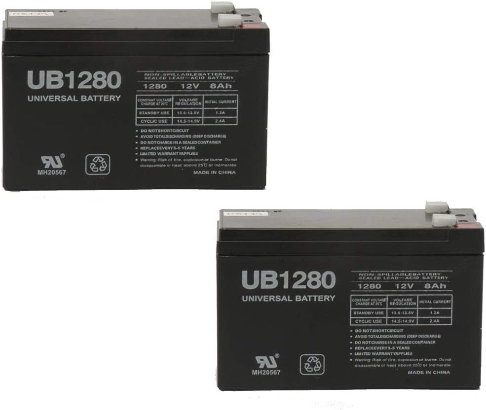 Max 64% OFF Universal Power Group 12V 8Ah F2 Battery for APC Industry No. 1 Replacement Mod