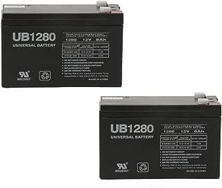 Universal Power Group 12V 8Ah F2 Razor Ground Force Drifter Go Kart SLA Battery - 2 Pack