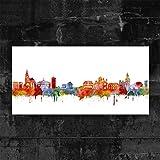 Kunstbruder Heilbronn Skyline Light (div. Größen) - Kunst
