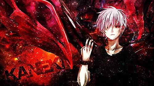 Poster di Tokyo Ghoul Kaneki Ken Anime stampa 30,5 x 40,5 cm (multicolore)