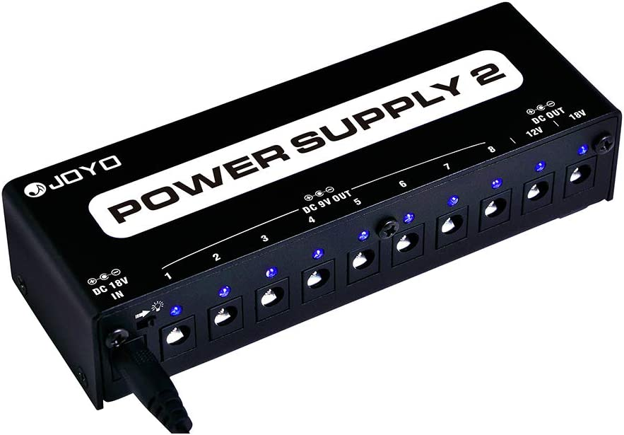 Max 86% OFF JOYO JP-02 Guitar Pedal Su Power Atlanta Mall Board Supply