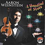 "album cover: Aaron Weinstein ""Handful of Stars"""