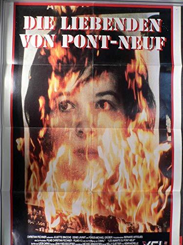 Die Liebenden von Pont-Neuf - Filmposter A1 84x60cm gefaltet (3) (g)